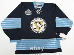 Pittsburgh Penguins 2011 NHL Winter Classic Reebok Hockey Jersey Size Large