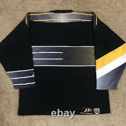 Pittsburgh Penguins Robo Pen NHL Hockey Jersey Vintage Black Alternate Third L
