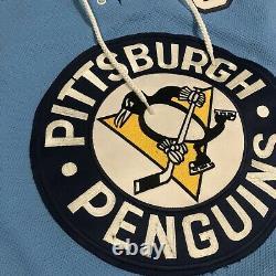 Reebok Pittsburgh Penguins Sidney Crosby 2008 Winter Classic NHL Jersey Blue L