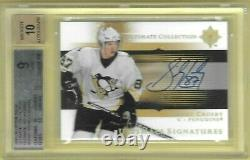 Sidney Crosby 2005-06 Ud Ultimate Collection Signature Auto Rc 9 Mint