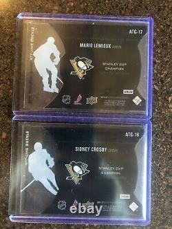 Sidney Crosby & Mario Lemieux Greats 11/12 Black Diamond Championship Rings