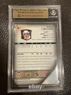 Sidney Crosby Pittsburgh Penguins 2005-06 Young Guns Bgs 9.5