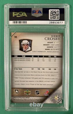 Sidney Crosby Psa 10 Gem Mint 2005 Upper Deck Young Guns Rookie Rc