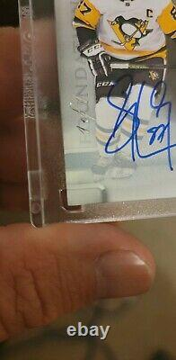 Sidney Crosby THE CUP QUAD PATCH/TAG AUTO FOUNDATIONS 1/1