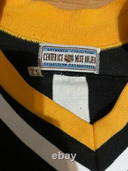 Straka Pittsburgh Penguins Authentic CCM NHL Hockey Jersey 52 Black Snoop Dogg