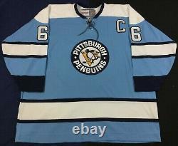 Vintage Pittsburgh Penguins Mario Lemieux #66 Hockey-NHL CCM Jersey Size60