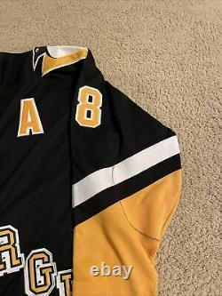 Vintage Starter Pittsburgh Penguins Jaromir Jagr Stitched Jersey XL NHL Patch